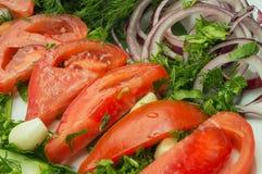 Verduras orgánicas deliciosas fotografía de archivo