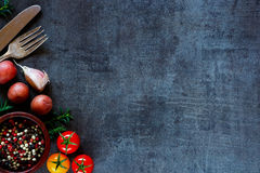 Verduras orgánicas para cocinar fotografía de archivo libre de regalías