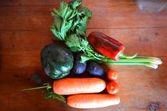 Verduras para la buena nutrición fotografía de archivo