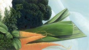 Verduras para la sopa Foto de archivo
