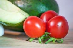 Verduras sanas - comida sana Imagen de archivo