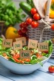 Verduras sin los preservativos Imagen de archivo