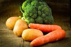 Verduras terrosas frescas del cortijo fotos de archivo
