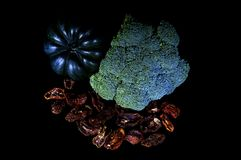 Verduras una luz del la Fotos de archivo libres de regalías