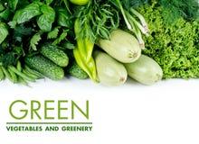 Verduras verdes Fotografía de archivo