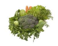 verduras verdes healty Fotografía de archivo libre de regalías