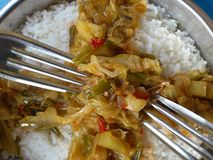Verduras y arte culinario Fotos de archivo