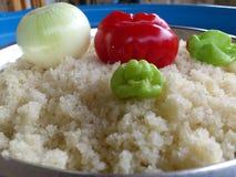 Verduras y arte culinario Imagen de archivo