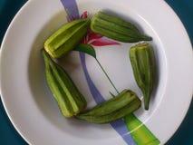 Verduras y arte culinario Fotografía de archivo libre de regalías