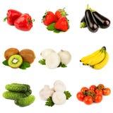 Verduras y fruta Fotos de archivo libres de regalías