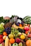 Verduras y frutas Imagen de archivo libre de regalías