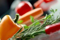 Verduras. Macro. Fotos de archivo