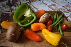 Verdure, è che cosa ` s per la cena Fotografie Stock Libere da Diritti