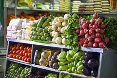 Verdure ad un mercato Immagine Stock