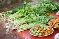 Verdure all'mercati locali Fotografia Stock Libera da Diritti