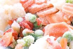Verdure congelate Immagine Stock Libera da Diritti