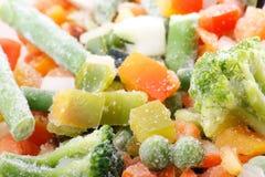 Verdure congelate Immagini Stock