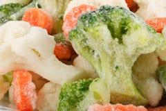 Verdure congelate fresche Immagini Stock Libere da Diritti