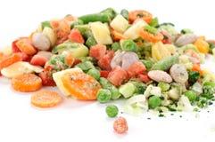 Verdure congelate per minestra Fotografia Stock