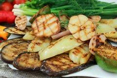 Verdure cotte Immagini Stock