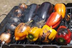 Verdure cotte Fotografie Stock