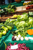 Verdure da vendere nel DOS Lavradores o il mercato di Mercado dei lavoratori Fotografie Stock Libere da Diritti