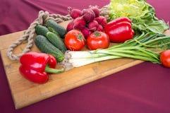 Verdure dall'azienda agricola Fotografia Stock