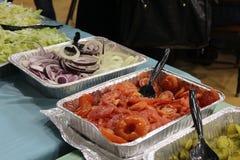 Verdure del buffet Fotografia Stock