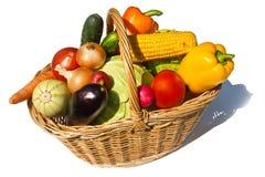 verdure del cestino Fotografia Stock Libera da Diritti
