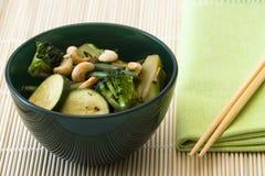 Verdure del Wok Fotografia Stock Libera da Diritti