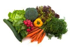 Verdure dell'assortimento fotografia stock