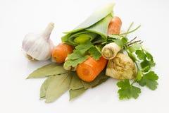 Verdure della minestra Fotografia Stock Libera da Diritti