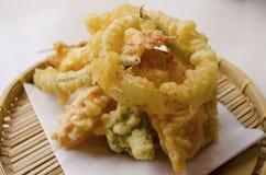 Verdure della tempura Fotografia Stock Libera da Diritti