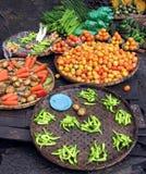 Verdure della via immagine stock