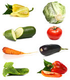 Verdure delle vitamine e fresche Fotografia Stock Libera da Diritti