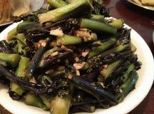 Verdure di Fried Chinese Immagini Stock