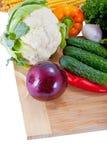 Verdure di insalata fresche Immagine Stock