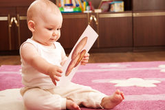Verdure di studio del bambino Immagine Stock Libera da Diritti