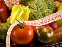 Verdure, dieta sana. Fotografia Stock