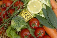 Verdure e dieta Immagini Stock