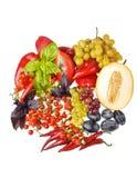 Verdure e frutta Fotografie Stock Libere da Diritti