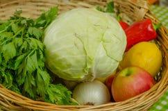 Verdure e frutta immagini stock libere da diritti