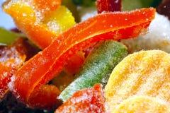 Verdure e ghiaccio congelati Fotografie Stock Libere da Diritti