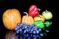 Verdure, erbe e frutta Immagini Stock Libere da Diritti