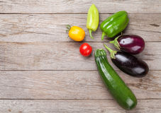 Verdure fresche del giardino degli agricoltori Fotografie Stock