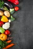 Verdure fresche dell'agricoltore Immagini Stock