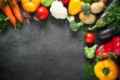 Verdure fresche dell'agricoltore Fotografia Stock