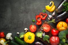 Verdure fresche dell'agricoltore Fotografia Stock Libera da Diritti
