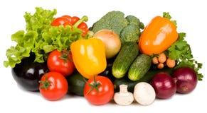 Verdure fresche dell'insieme Immagini Stock Libere da Diritti