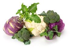 Verdure fresche e mature Fotografia Stock